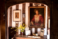 Entrance hall with portrait of Dame Ellen Terry